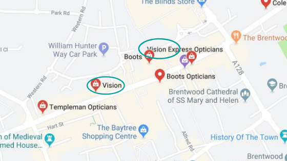 duplicate google maps listings