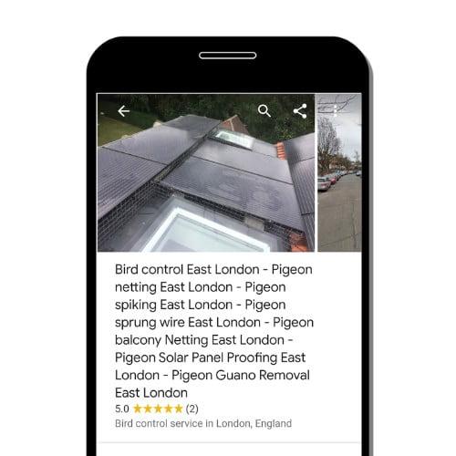 google-map-spam